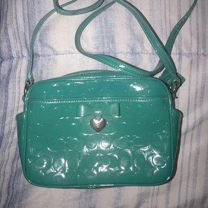 Coach Heart & Bow Camera Bag